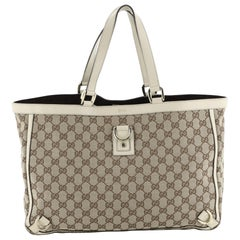 Gucci Abbey D-Ring Tote GG Canvas Large