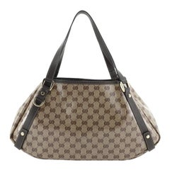 Gucci Abbey Shoulder Bag GG Coated Canvas Medium
