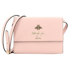 Gucci Animalier Crossbody Bag Leather
