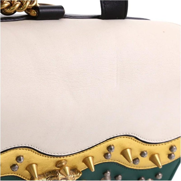 7f55a429d9e8b8 Gucci Animalier Malin Backpack Studded Leather Medium For Sale at ...