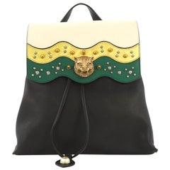 Gucci Animalier Malin Backpack Studded Leather Medium
