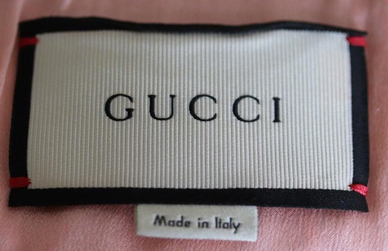 Women's Gucci Appliquéd Floral Brocade Bomber Jacket  For Sale