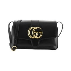 Gucci Arli Shoulder Bag Leather Small, crafted from black leather