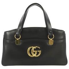 Gucci Arli Top Handle Bag Leather Large