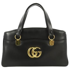 Gucci Arli Top Handle Bag Leather Large