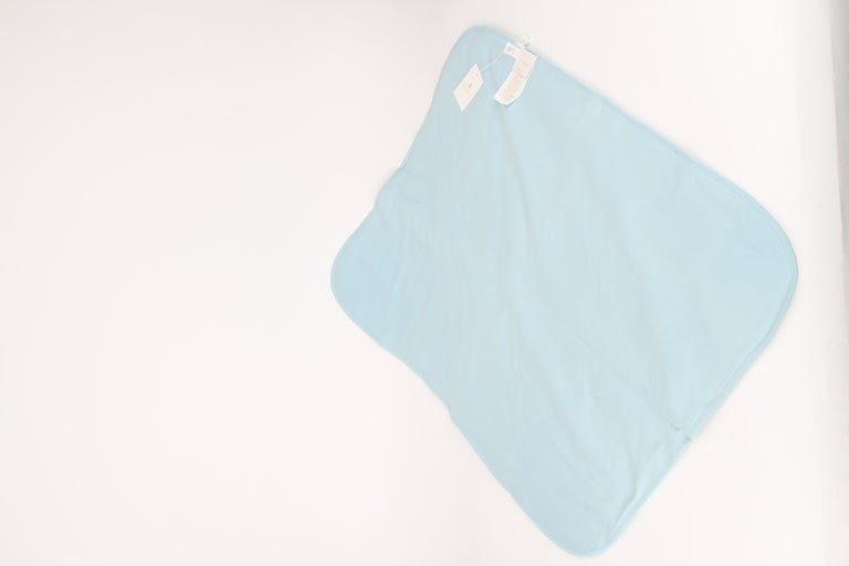 Gucci Baby Blue Floral Blanket For Sale 1