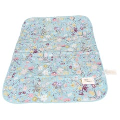 Gucci Baby Blue Floral Blanket