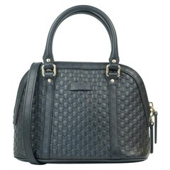 Gucci, bag in blue leather