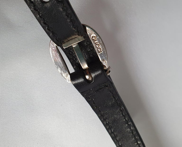 Gucci, Bamboo in black cloth For Sale 5