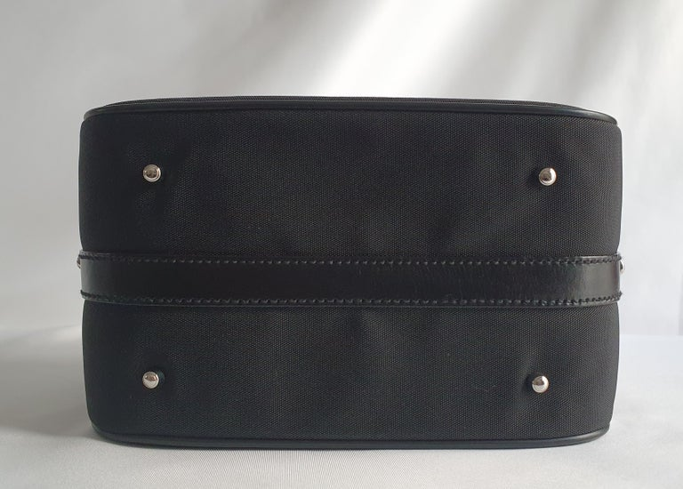 Black Gucci, Bamboo in black cloth For Sale