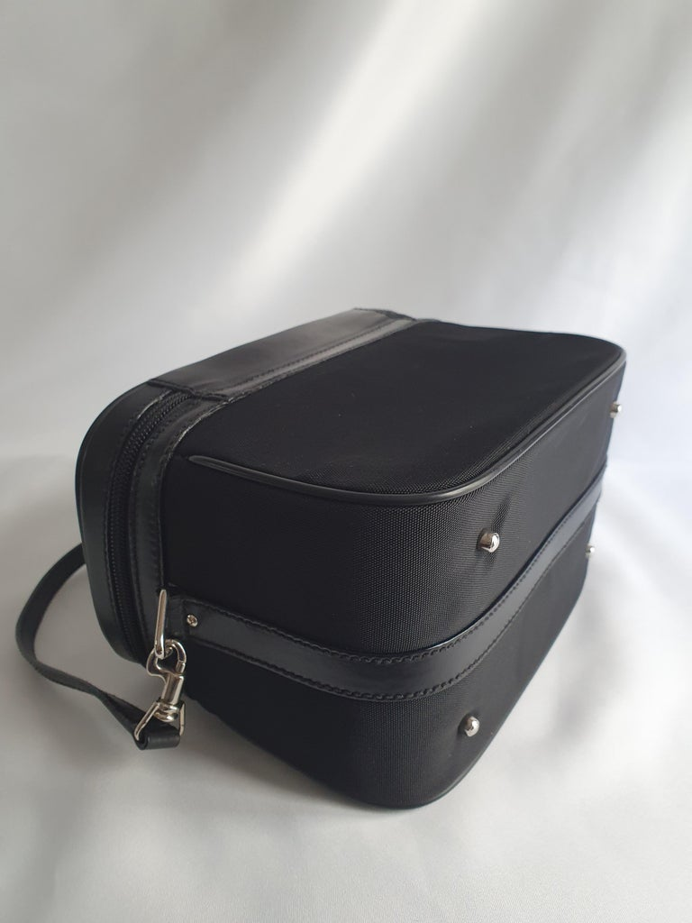 Gucci, Bamboo in black cloth For Sale 2