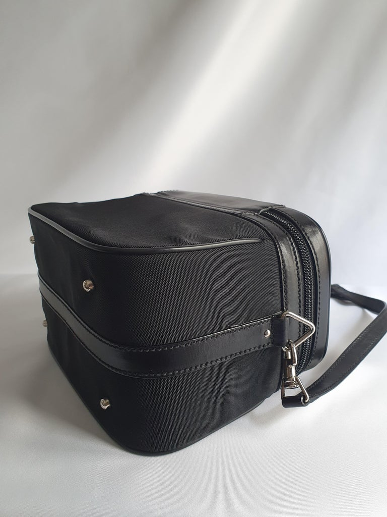 Gucci, Bamboo in black cloth For Sale 3