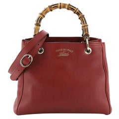 Gucci Bamboo Shopper Tote Leather Small