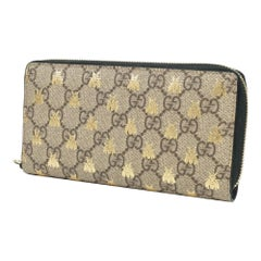 GUCCI Bee( bee) Zip around Wallet Womens long wallet 410102