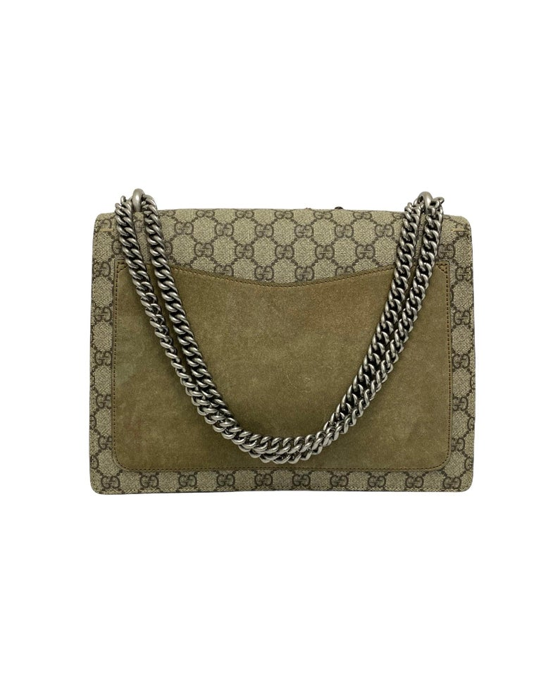 Women's Gucci Beige Fabric Dionysus Bag For Sale