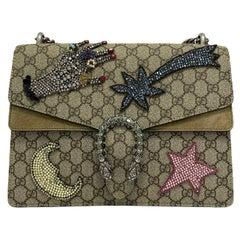 Gucci Beige Fabric Dionysus Bag