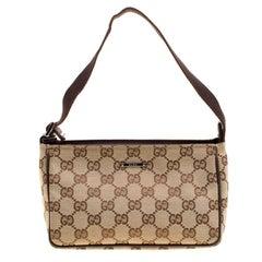 Gucci Beige GG Canvas Mini Shoulder Bag