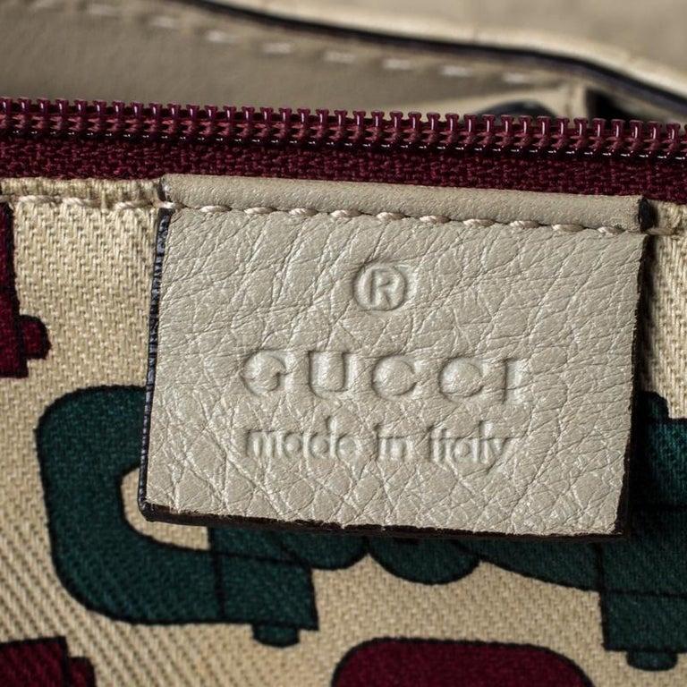 Gucci Beige Guccisima Leather Large Sukey Tote 2