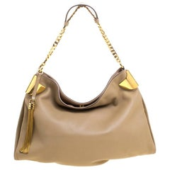 Gucci Beige Leather Medium Gucci 1970 Shoulder Bag