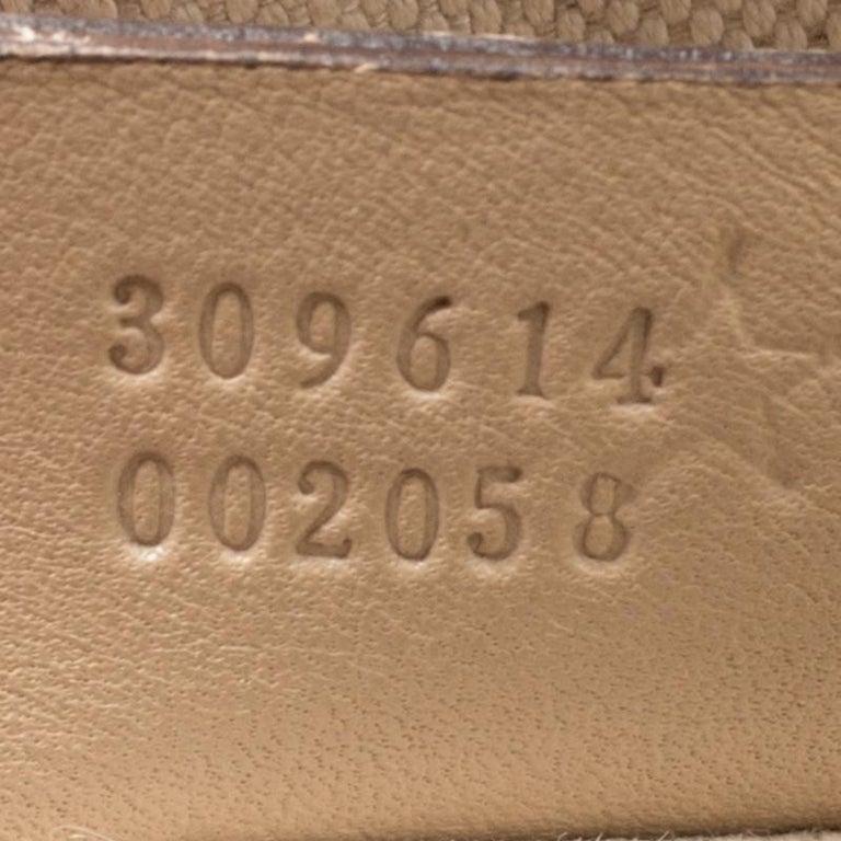 Gucci Beige Microguccissima Leather Medium Nice Top Handle Bag 2