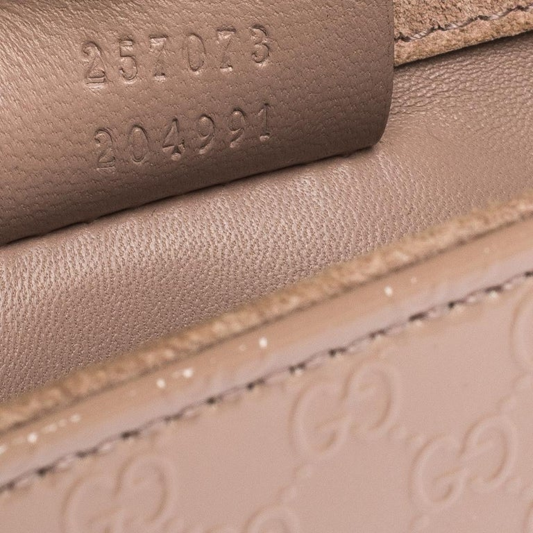 Gucci Beige Nice Microguccissima Leather Broadway Clutch For Sale 4