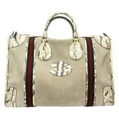 Gucci Beige Suede Ophidia Bag
