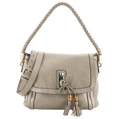 Gucci Bella Flap Shoulder Bag Leather Medium