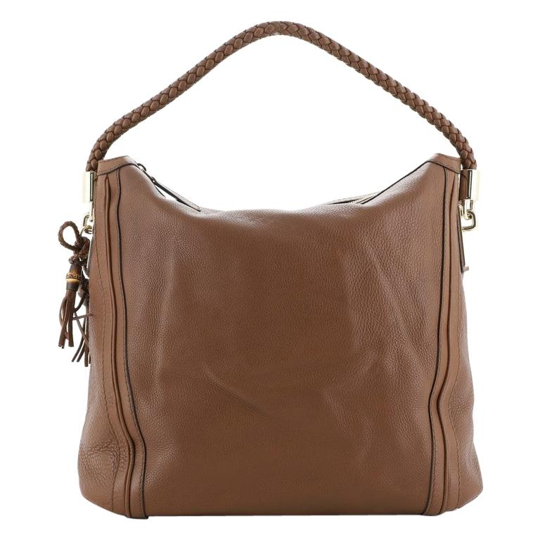 Gucci Bella Hobo Leather Large For Sale