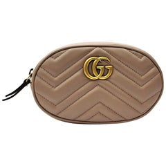 Gucci Belt Bag Beige Leather 2018