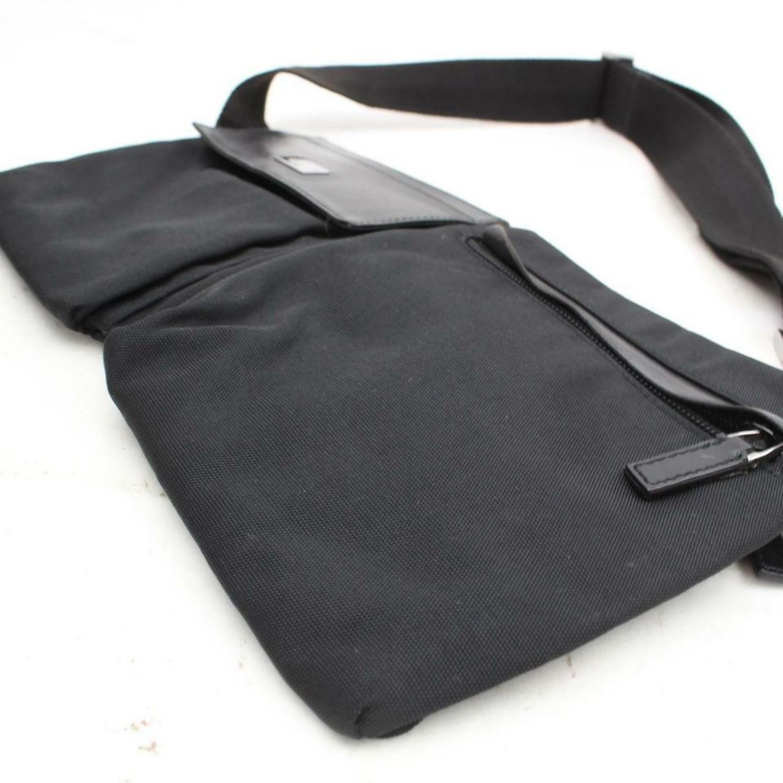 20bbd31dcb0b Gucci Belt Fanny Pack Waist Pouch 870045 Black Nylon Cross Body Bag For  Sale at 1stdibs