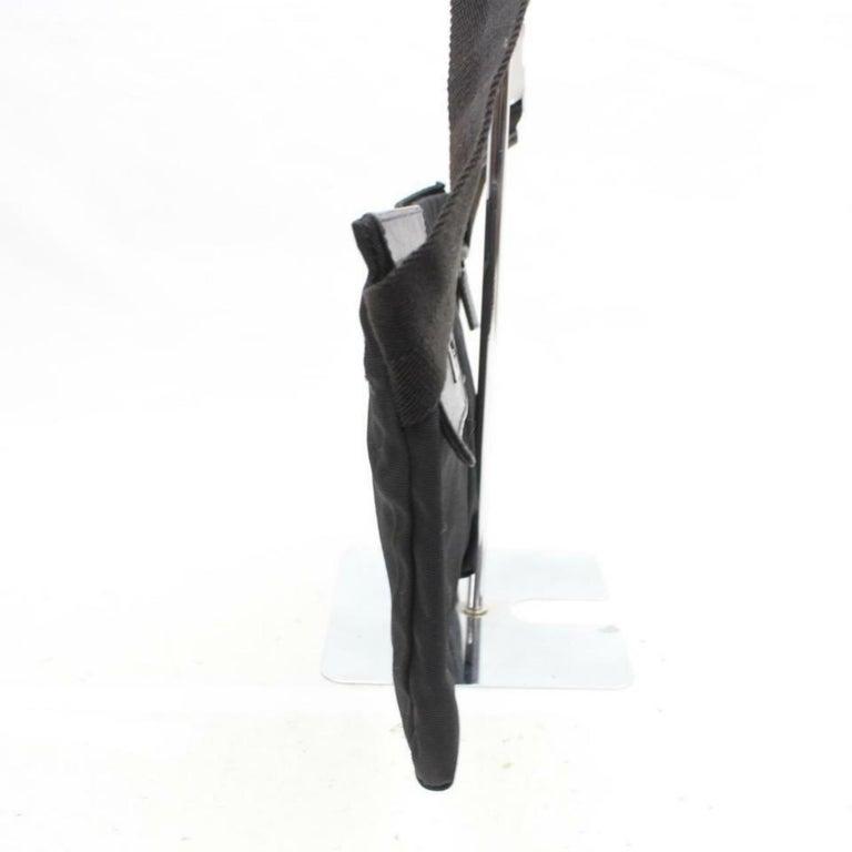 e48c5770e167 Gucci Belt Fanny Pack Waist Pouch 870045 Black Nylon Cross Body Bag For  Sale 4
