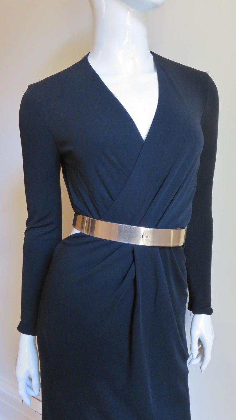Gucci Belted Cut out Backless Dress 5