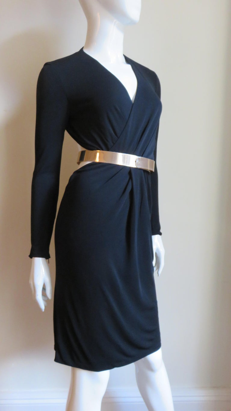 Gucci Belted Cut out Backless Dress 6