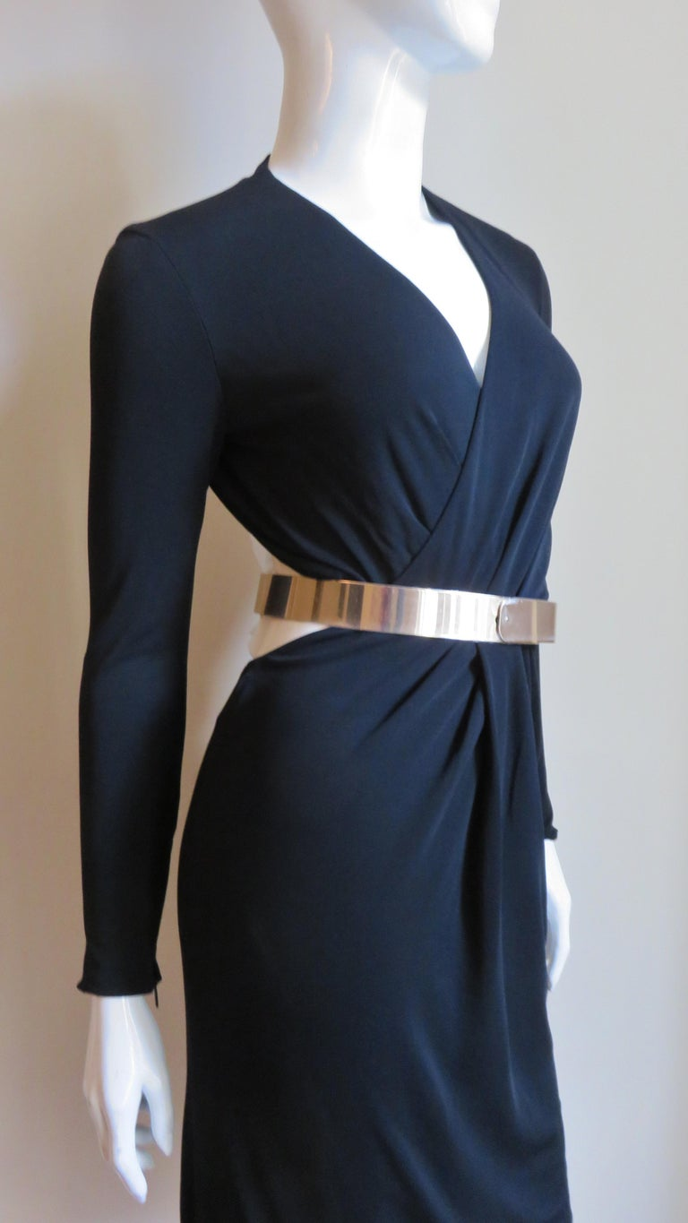 Gucci Belted Cut out Backless Dress 7
