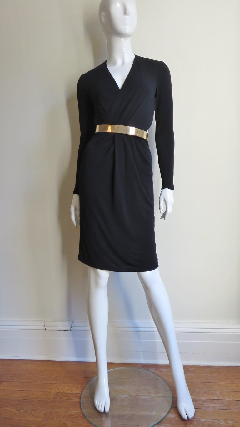 Gucci Belted Cut out Backless Dress 8