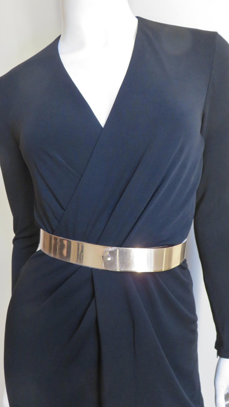 Women's Gucci Belted Cut out Backless Dress