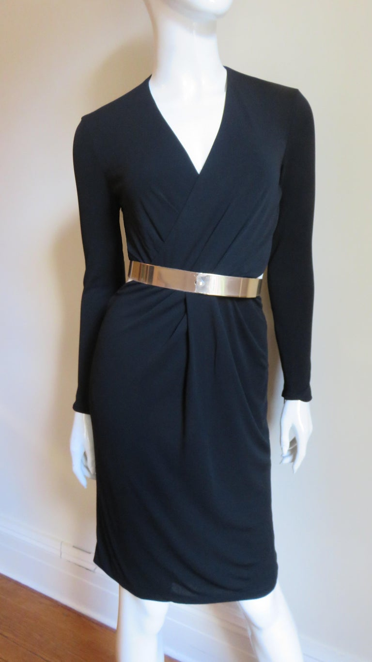 Gucci Belted Cut out Backless Dress 4