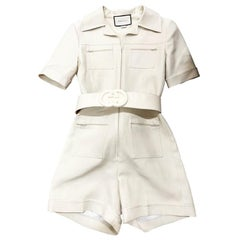 Gucci Belted Playsuit