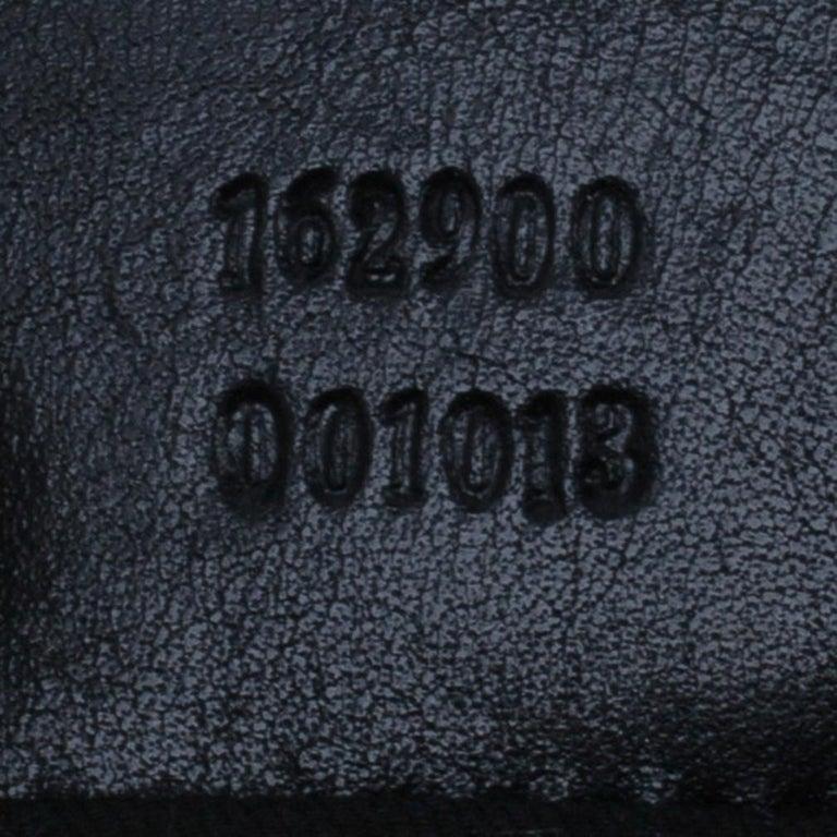Gucci Black Canvas Medium Pelham Shoulder Bag For Sale 13
