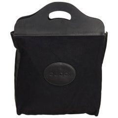 Gucci Black Chemical Fiber Handbag