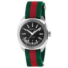 Gucci Black Dial Watch YA142305
