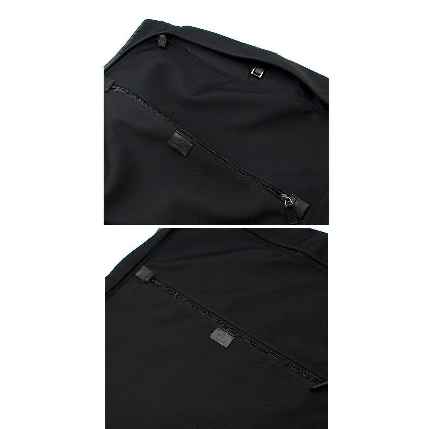 e11938e414b Gucci Black Garment Bag For Sale at 1stdibs
