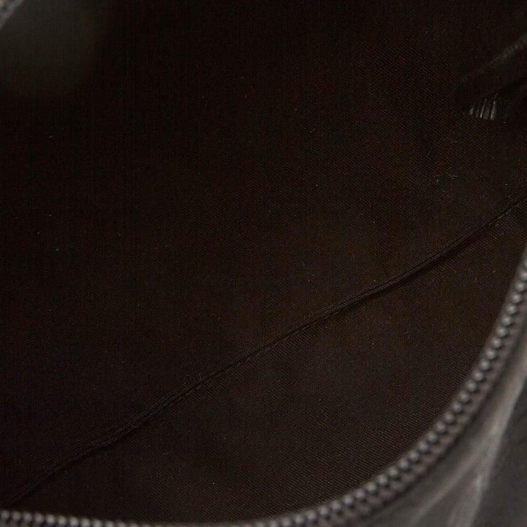 Gucci Black GG Jacquard Handbag For Sale 1