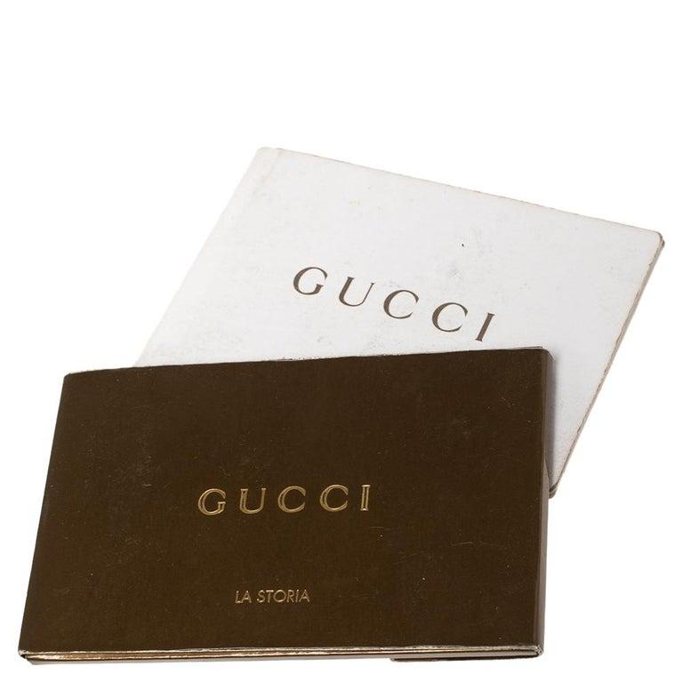 Gucci Black Guccissima Leather Medium Hobo For Sale 2