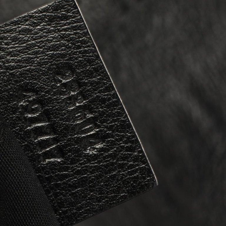 Gucci Black Guccissima Leather Medium Hobo For Sale 3