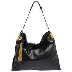 Gucci Black Leather 1970 Shoulder Bag