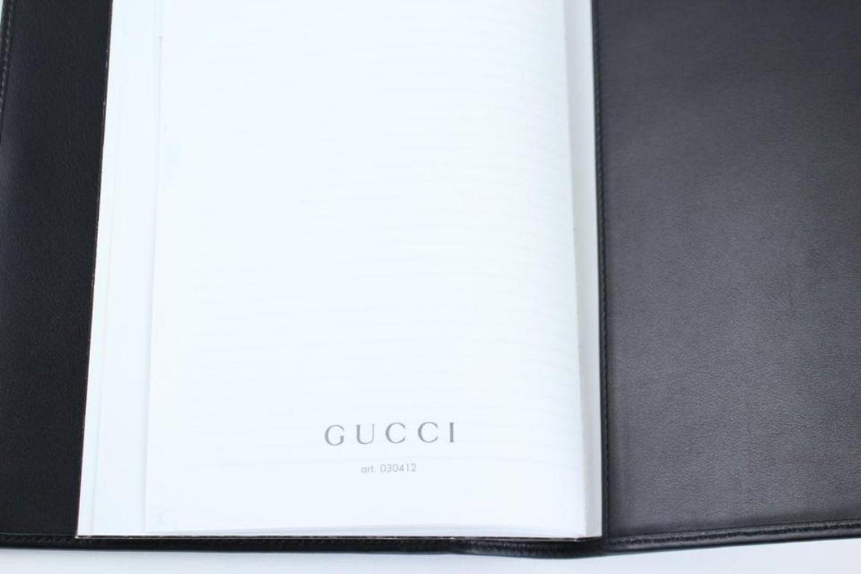 08cb29e88 Gucci Black Leather Agenda Cover 4gk0919 For Sale at 1stdibs