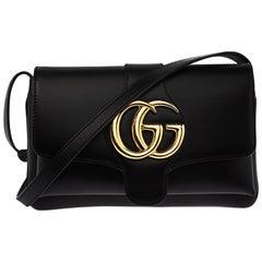 Gucci Black Leather Arli Small Shoulder Bag