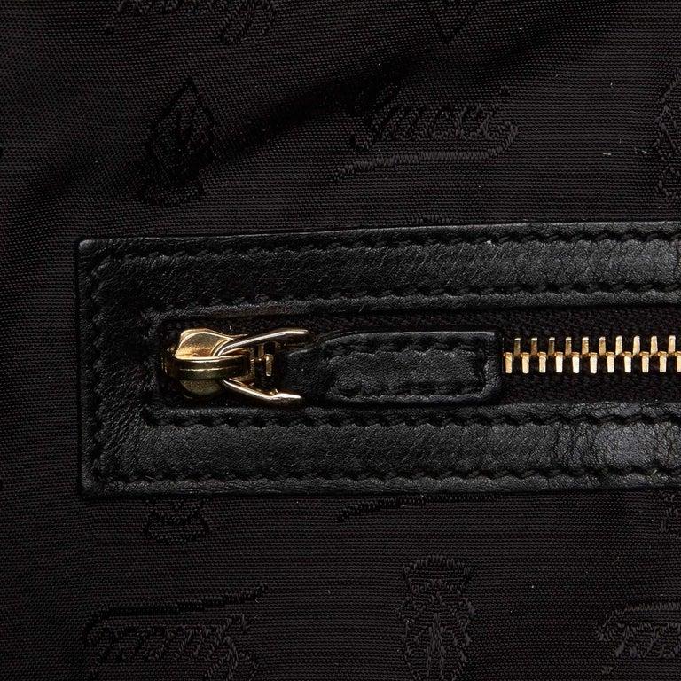 Gucci Black Leather Hysteria For Sale 7