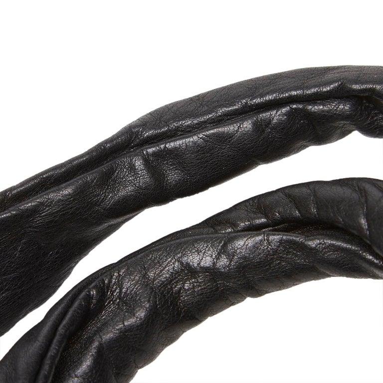 Gucci Black Leather Hysteria For Sale 8